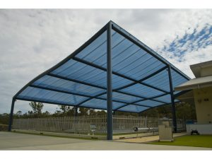 Blue Wave Pool Canopy